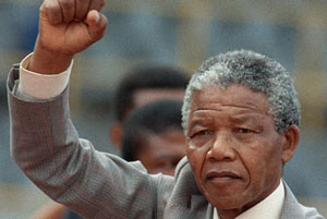 Empowerment personified - Nelson Mandela.